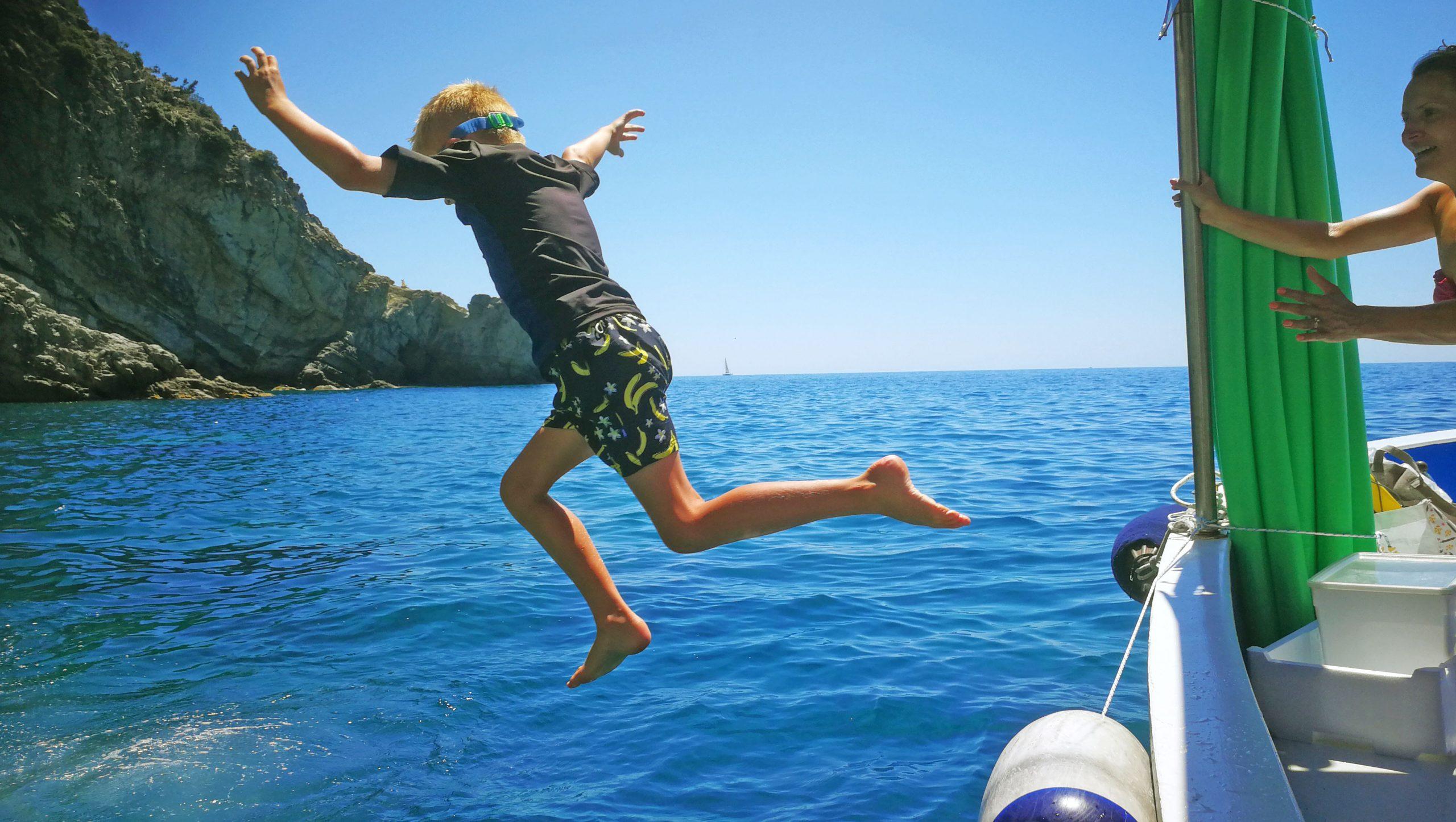 Freeedom ! Rosa dei Venti boat tour Levanto Cinque Terre